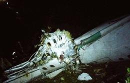 Máy bay rơi tại Colombia vì cạn kiệt nhiên liệu