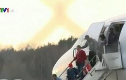 Máy bay Thổ Nhĩ Kỳ bị dọa đánh bom tại Đức