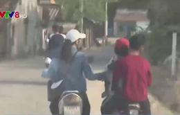 Bình Định: Gia tăng tình trạng người tham gia giao thông không đội mũ bảo hiểm
