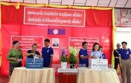 Gần 4 triệu cử tri Lào đi bỏ phiếu bầu cử Quốc hội khóa VIII