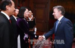 Phó Chủ tịch nước hội đàm với Tổng thống Colombia