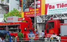 TP.HCM: Cháy cửa hàng trong đêm, 4 người thiệt mạng