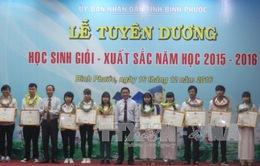 Bình Phước: Tuyên dương 132 học sinh giỏi xuất sắc