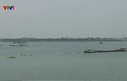 Mực nước sông Mekong trên địa phận Campuchia đang lên