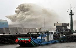 Trung Quốc đưa ra cảnh báo mức cao nhất về bão Meranti