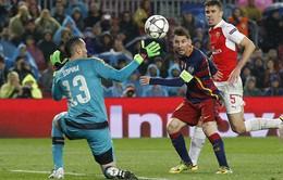 """Messi lập kỷ lục với """"con mồi"""" ưa thích Arsenal"""