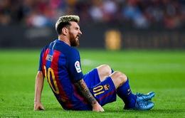 Barcelona mất Messi gần một tháng vì chấn thương