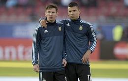 Tương lai Aguero giờ phụ thuộc vào Messi