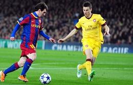Arsenal – Barcelona: Tam tấu kéo sập Emirates? (2h45, BĐTV, TTTV)