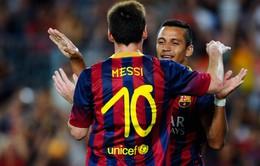 """""""Đục nước béo cò"""", PSG tính cuỗm Messi khỏi Barca"""
