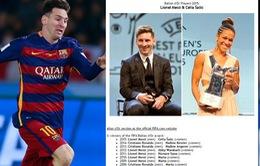 FIFA lộ thông tin Messi giành QBV 2015: Sai sót hay sự thật?