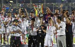 ĐT Việt Nam nhận thưởng gần 1 tỉ đồng sau chức vô địch giải Tứ hùng