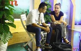 MC Vũ Trang tất bật cho Café sáng cuối tuần