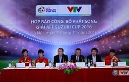 Thông cáo báo chí Công bố phát sóng giải AFF Suzuki Cup 2016