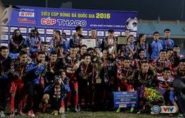 Siêu cúp Quốc gia 2016, CLB Hà Nội 3-3 (pen 2-4) Than Quảng Ninh: Thắng lợi nghẹt thở!