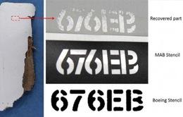 Xác nhận mảnh vỡ tìm thấy ở Mozambique là của máy bay MH370