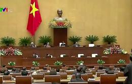Quốc hội miễn nhiệm Phó Chủ tịch QH, 7 Ủy viên Thường vụ
