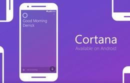 Trợ lý ảo Cortana cập bến thị trường Anh với giao diện mới