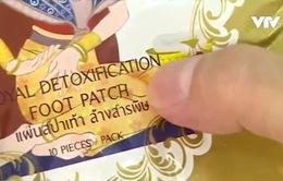 Miếng dán thải độc thực chất chủ yếu gồm bột… ngô, tre xay nhuyễn