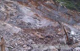 Thanh Hóa: Sạt lở đá khiến 2 người thương vong