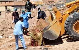Phát hiện 50 ngôi mộ tập thể tại Iraq