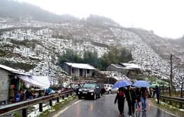 Ngắm tuyết rơi, du khách đến Sapa tăng đột biến