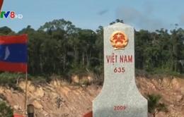 Hoàn thành tăng dày và tôn tạo mốc giới quốc gia giữa Việt Nam và Lào