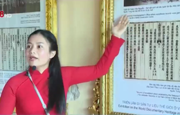 Triển lãm Di sản tư liệu thế giới ở Việt Nam hấp dẫn du khách