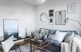 Ngắm không gian thoáng đãng khó tin của căn hộ 73m2
