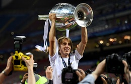 Modric lần thứ 5 xuất sắc nhất Croatia