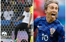Ấn tượng EURO 2016 ngày 13/6: Bái phục Boateng, ngả mũ trước Modric