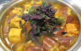 Bữa tối đầu tuần ngon miệng với món cà tím bung thịt, đậu nóng hổi