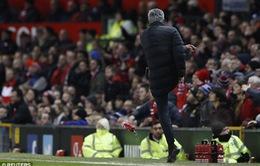 Mourinho lập kỷ lục tệ hại nhất cho Man Utd