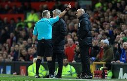 Phản ứng trọng tài, Mourinho có thể bị cấm chỉ đạo 6 trận
