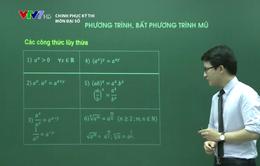 Phương pháp giải phương trình, bất phương trình mũ