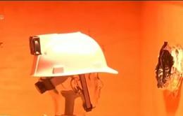 Mũ bảo hộ tác dụng làm mát cho người lao động