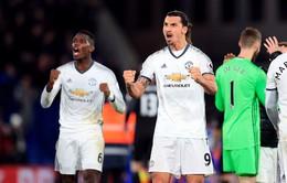 Vòng 16 Ngoại Hạng Anh: Crystal Palace 1-2 Man Utd: Ibra tỏa sáng, M.U giành trọn 3 điểm