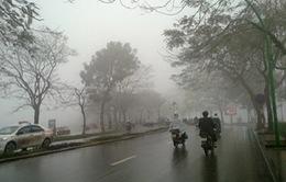 Thời tiết hôm nay: Hà Nội nhiều mây, sáng và đêm có mưa phùn