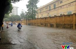 Hôm nay, Hà Nội dự báo có mưa rào và dông