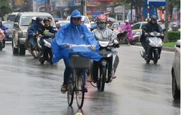 Cảnh báo mưa dông, gió giật mạnh ở Bắc Bộ