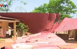 Bé 3 tuổi tử vong do mưa đá và gió lốc tại Hà Giang