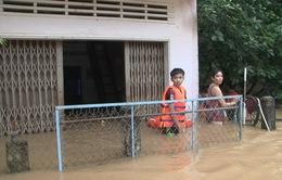 7 người thương vong, mất tích do mưa lũ tại miền Trung