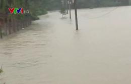 Mưa lũ tại miền Trung: 17 người thiệt mạng, 2.460 ngôi nhà ngập trong nước