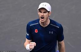 Vòng 2 Paris Masters: Murray thắng nhọc, Wawrinka thua sốc