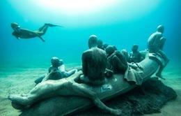 Jason Taylor - Cha đẻ của bảo tàng dưới nước lớn nhất châu Âu
