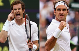Bán kết Wimbledon 2016: Chờ đợi chung kết trong mơ Federer - Murray