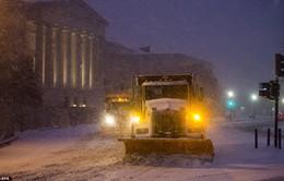 Mỹ dỡ bỏ tình trạng khẩn cấp ở thủ đô sau bão tuyết
