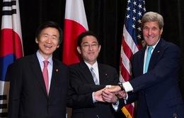 Mỹ - Nhật - Hàn thảo luận các biện pháp tăng cường trừng phạt Triều Tiên