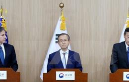 Hàn - Mỹ - Nhật gây sức ép mạnh hơn với Triều Tiên