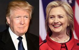 Bầu cử Tổng thống Mỹ: Bà Hillary Clinton và ông Donald Trump tạm dẫn đầu